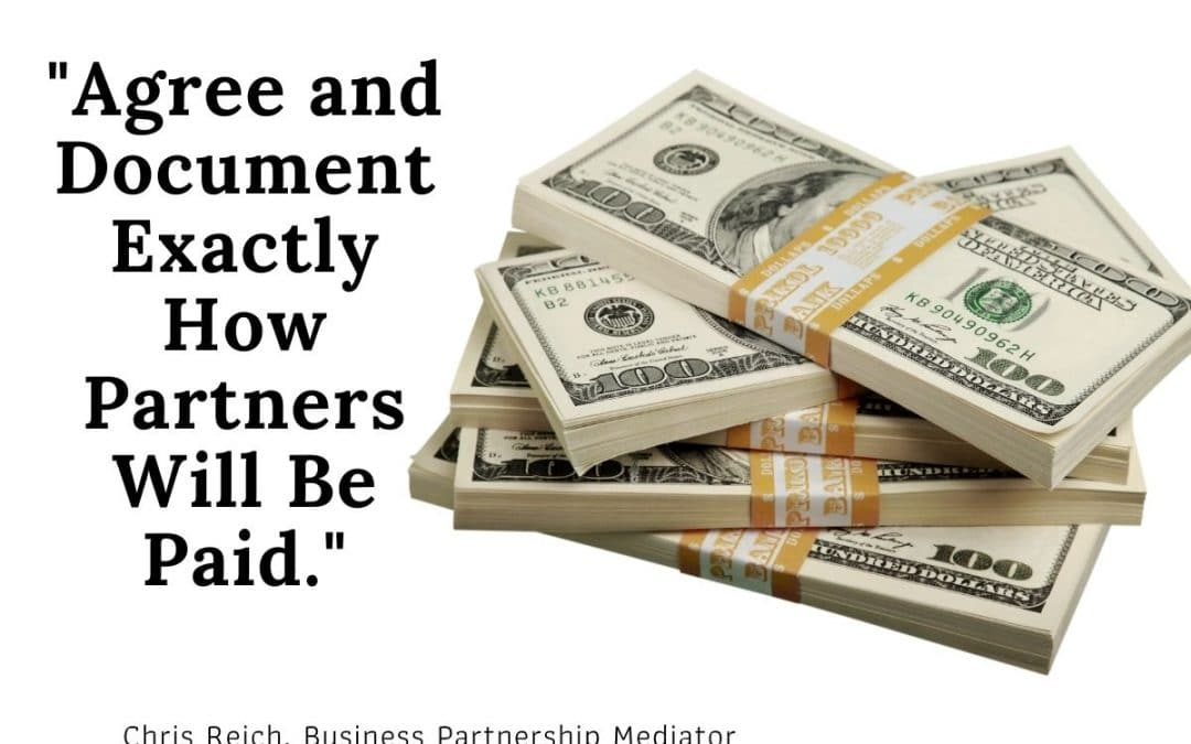 Discuss, Agree, and Document How Partners Will Be Paid