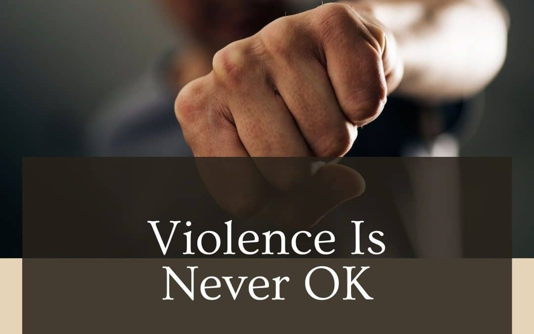Violence By a Business Partner Is Never OK