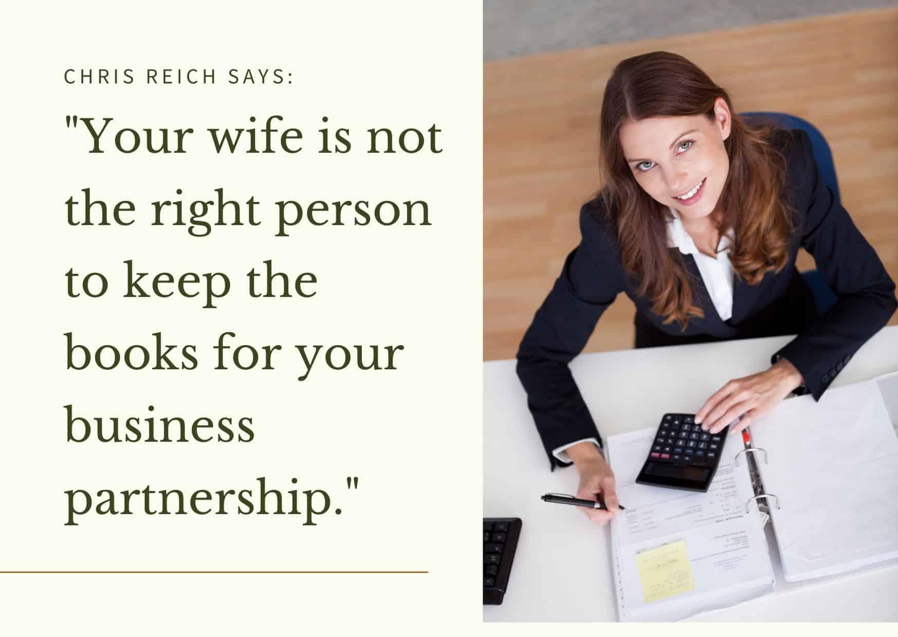 Wife Should Not Keep Books TeachU